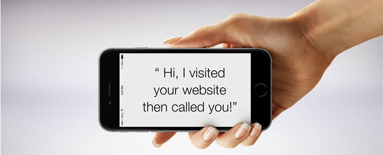 Wouldn't it be great to know if anybody calls your business after visiting your website?