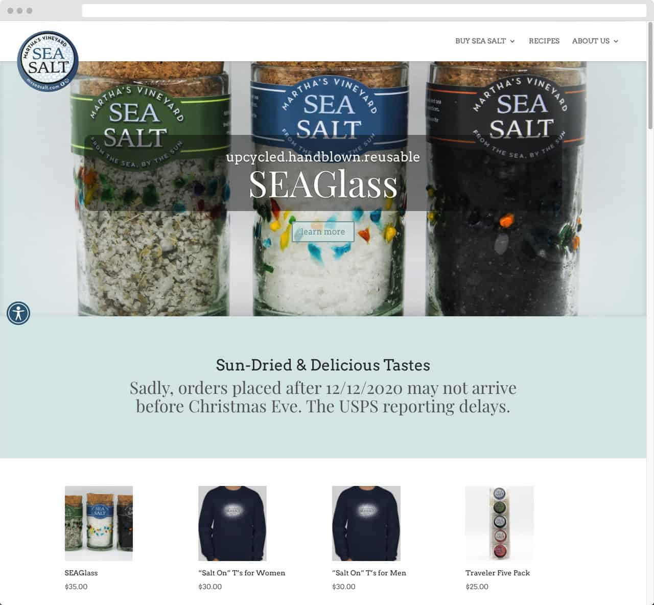 Martha's Vineyard Sea Salt