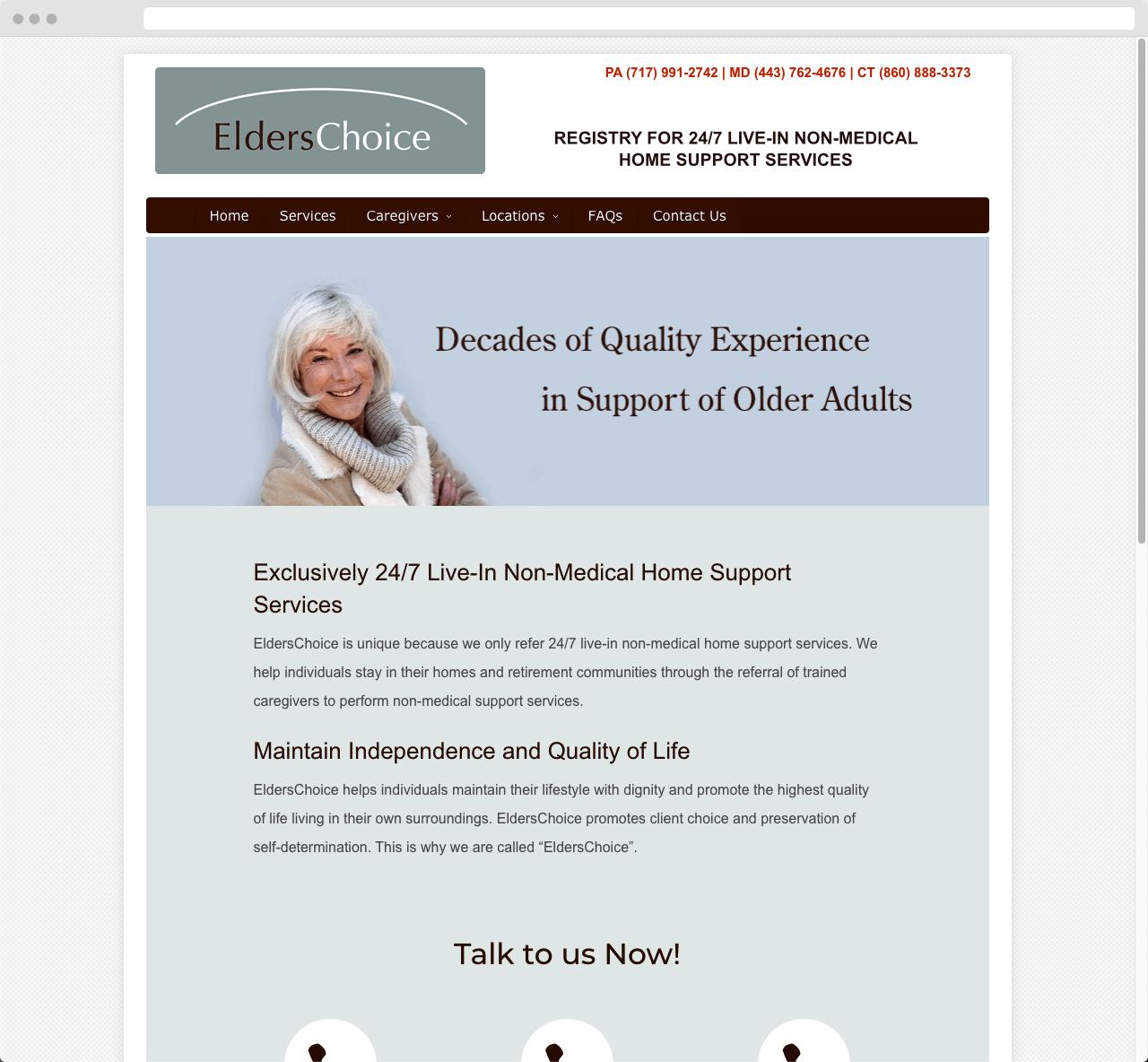 Elders Choice